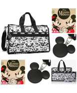 LeSportsac Disney Mickey & Minnie Mouse Mickey Loves Minnie Medium Weeke... - $138.00