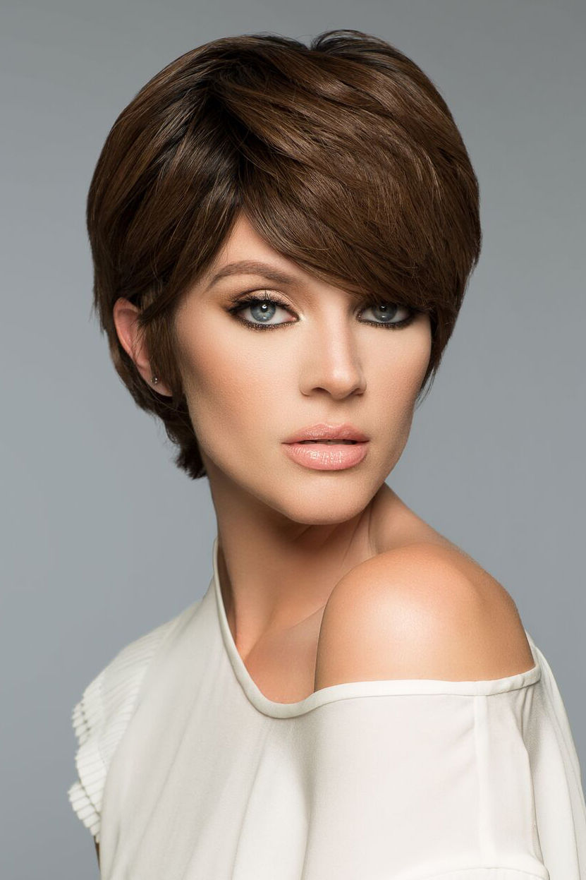 LORI Remy Human Hair Wig by WIG PRO, Petite Pixie, Mono-Top, ALL COLORS inc gray, used for sale  USA