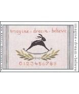 Imagine Dream Believe cross stitch chart Artful Offerings  - $9.00