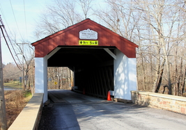 Pine Valley Covered Bridge 13 x 19 Unmatted Photograph - $35.00