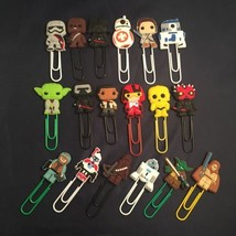Star Wars - Bobblehead / Lego Paperclip Bookmark Chewbacca Darth Vader R... - $1.90