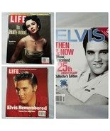 Collectible Magazines 3 LIFE Elvis 25th Anniversary Collector's Elizabet... - $24.33