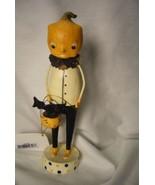 Bethany Lowe Pumpkin Head Figure Halloween - $23.49
