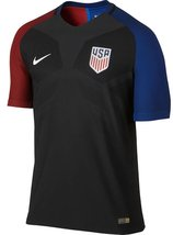 US Soccer Nike Home Authentic Vapor Match Jersey (Black, Small) - $192.01