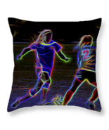 Soccer Competition, Throw Pillow, fine art, sea... - $41.99 - $69.99