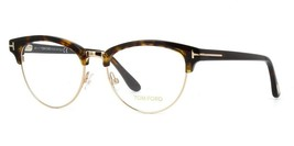 Tom Ford TF5471 052 Dark Havana Women's Cat Eye Eyeglasses Frames 5471 NEW 53mm - $123.70