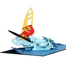 CUTEPOPUP- BIG Wave surfing Popup Card for Birthdays, Anniversaries, Goo... - $13.31