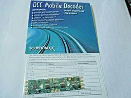 Soundtraxx 852002 MC2H104AT DCC Mobile Decoder 4 Function Atlas, Ath, Kato Style image 3