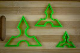 Ninja Star 1 - Three Point Throwing Star - Shuriken - Cookie cutter Mult... - $3.00+