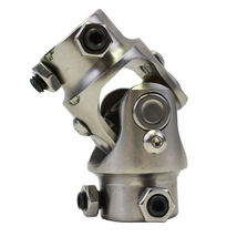 """Forged Stainless Steel Yokes Steering Shaft Universal U-Joint 3/4"""" DD To 3/4"""" DD image 3"""