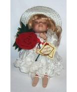 (2) Doll's Genuine Bisque Porcelain Collector's Choice LORRAINE Sitting ... - $25.00