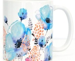 Ceramic coffee mug blue poppy thumb155 crop
