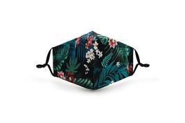 Palm Leaf Jungle Design Face Mask Washable Reusable POLYESTER/COTTON +2 ... - $13.99