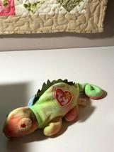 "388 TY Beanie Babies ""Iggy"" Chameleon Lot of 2 1997 - $29.70"