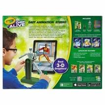 New Kid's Crayola Color Alive Create Easy Animation 3-D Graphics Studio NIB image 2