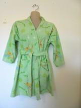 Walt Disney Princess Tinker Bell Green Robe Girls Size 6/7  - $5.99