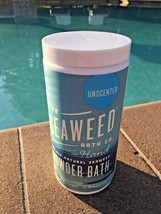 BRAND NEW BY SEAWEED CO. UNSCENTED HYDRATING SEAWEED BATH CAN W/ SCOOP - $19.99