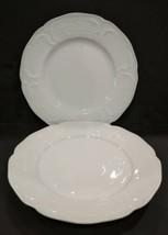 Rosenthal Continental Sanssouci White Ivory Dinner Plate No Trim - $48.51