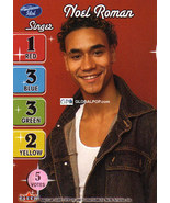 American Idol - Season 3 CCG Noel Roman Single Card NM  - $1.00