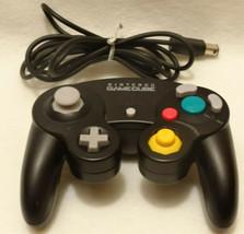 Nintendo Gamecube Controller Black OEM GENUINE OFFICIAL AUTHENTIC DOL-003 - $28.68