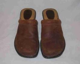 Great Womens Size 7 BOC BORN Tan/Brown Mules - $41.42