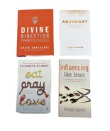 Christian Prayer Spiritual Growth Lot of 4 Books Divine Direction 7 Deci... - $15.83