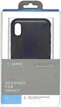 "Speck Presidio Grip Case for Apple iPhone XS Max 6.5"" Eclipse Blue/Carbon Black - $19.80"