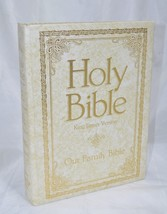 Holy Bible KJV Our Family Bible Red Letter Edition 1971 Royal Publishers - $39.90