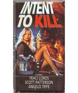 VHS - Intent To Kill (1993) *Traci Lords / Scott Patterson / Elena Sahagun* - $5.00