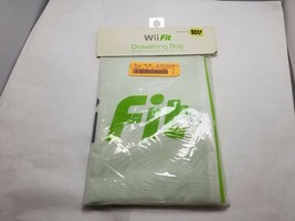"NEW Official Nintendo Wii Fit Nylon Drawstring Backpack Tote Bag 69982 12x16.5"" - $4.95"