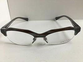 New Vintage ALAIN MIKLI A 0928 0002 53mm Gray Havana Women's Eyeglasses ... - $399.99