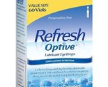 Refresh optive lubricant eye drops 60 0.01 fl. oz. tubes thumb155 crop
