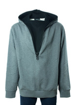 New~Givenchy Men's 100% Cotton Gray Zipper Sweater Size XLarge~RTL$1050~NIB - $498.75