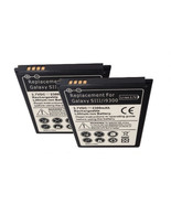 Samsung Galaxy S3 SGH T999 Two Battery Spare Extra T-Mobile III 2300 mAh... - $17.27