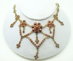 Genuine Natural Bohemian Garnet Necklace with Full & Rose Cut Garnets (#... - $470.25
