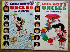 Little Dot's Uncles And Aunts Comic Books Harvey Comics Lot Of Two - $14.80