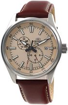 Orient Defender RA-AK0405Y Automatic Hand-winding men's watch leather band - $179.00