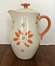 Temptations by Tara Old World Orange 2qt Pitcher - $26.77