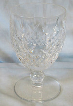 "Waterford Kilcash Water Stem Goblet 5 1/4"" - $35.53"