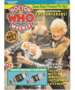 Doctor Who Weekly Comic Magazine #6 Jon Pertwee Cover 1979 FINE+ - $15.47