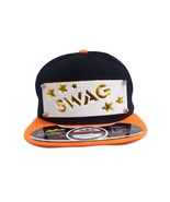STARRY SWAG White Patched Men Women Baseball Snapback Hip Hop Cap - £8.64 GBP