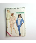 Butterick 5902 Sewing Pattern Misses Top Skirt Pants P-M(6-14) Very Easy - $9.89