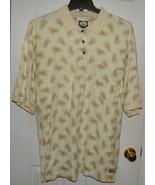Tommy Bahama Golf Polo Shirt Mens XL Cotton Pineapple Hawaiian Soft - $37.97