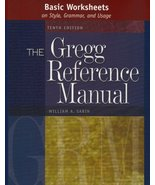 Basic Worksheets on Style, Grammar, and Usage to accompany the Gregg Ref... - $2.00