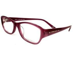Laura Ashley Kristen Fig C2 Eyeglasses Women  Semi Rimless 53-16-135 - $98.98