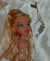 Bratz Cloe w shoes skirt top Miniature ice skater Bratz doll ornament Chloe - $16.99