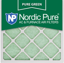 20x20x1 (19_1/2x19_1/2) Pure Green Eco-Friendly AC Furnace Air Filters 6 Pack - $50.82