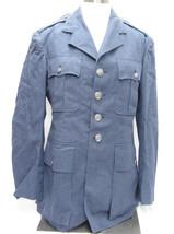 Air Force Uniform Dress Blue Wool Serge Men's Coat 37R 1950s USAF Jacket - $23.50