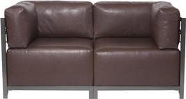 HOWARD ELLIOTT AXIS AVANTI Sectional Sofa Titanium Pecan - $2,639.00
