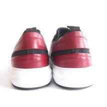 SALVATORE Taglia FERRAGAMO US PELLE Sneakers 296239 MARK ROSSA 5 NUOVO p 7 5 40 0wERqqF
